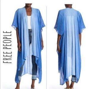 Free People Angelica Dip Dye Kimono